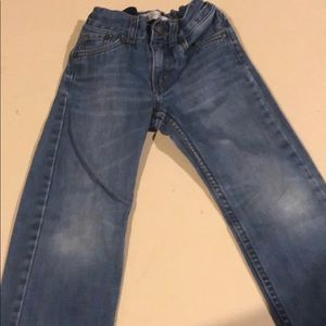 Toddler boys boot cut jeans